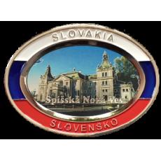 Suvenír Tanier ovál Spišská Nová Ves