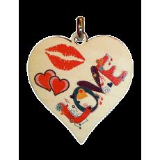 Kľúčenka Srdce Love