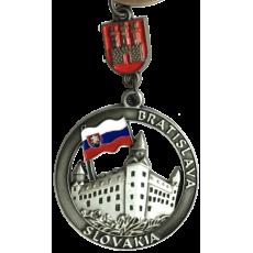 Kľúčenka Bratislava 03