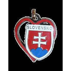 Kľúčenka Slovensko v srdci
