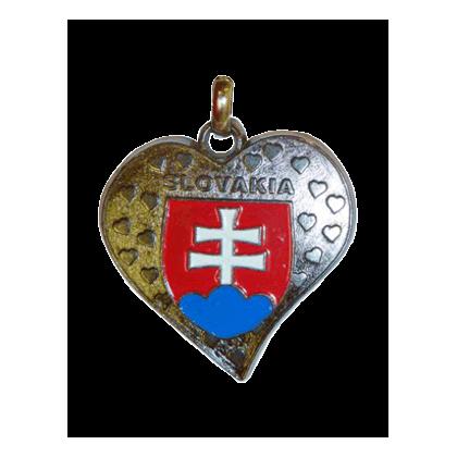 Kľučenka Slovakia srdce