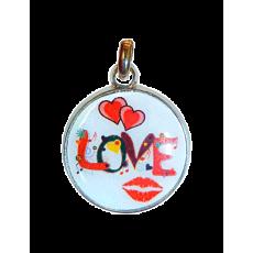 Kľúčenka Kruh Love
