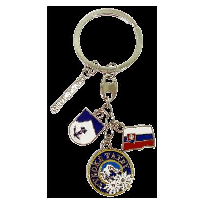 Kovová Kľúčenka Vysoké Tatry