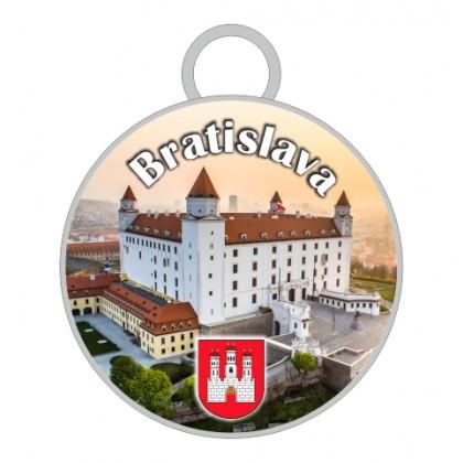 Kľúčenka kruh Bratislava 04