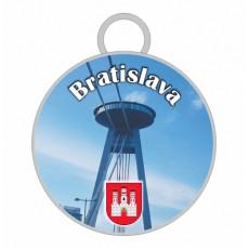 Kľúčenka kruh Bratislava 06