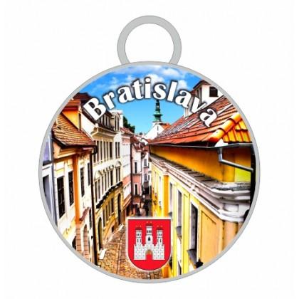 Kľúčenka kruh Bratislava 07