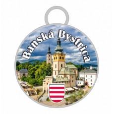 Kľúčenka kruh Banská Bystrica 01
