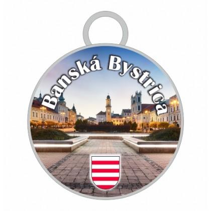 Kľúčenka kruh Banská Bystrica 02