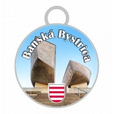 Kľúčenka kruh Banská Bystrica 03