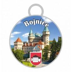 Kľúčenka kruh Bojnice 03