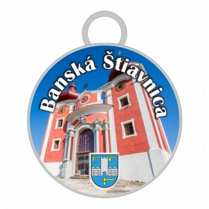 Kľúčenka kruh Banská Štiavnica 01
