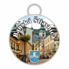 Kľúčenka kruh Banská Štiavnica 02