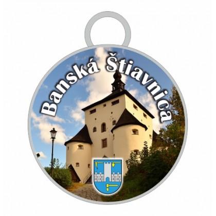 Kľúčenka kruh Banská Štiavnica 03