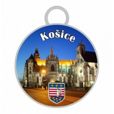 Kľúčenka kruh Košice 01
