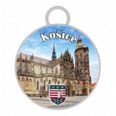 Kľúčenka kruh Košice 02