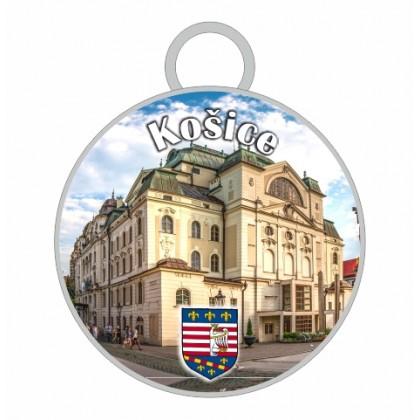 Kľúčenka kruh Košice 03