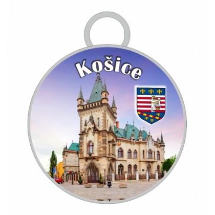 Kľúčenka kruh Košice 04