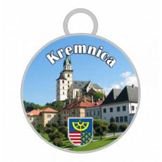 Kľúčenka kruh Kremnica 01