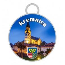 Kľúčenka kruh Kremnica 02