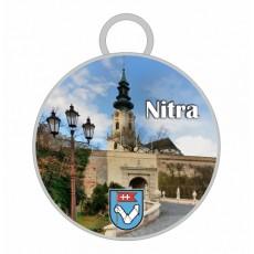 Kľúčenka kruh Nitra 01