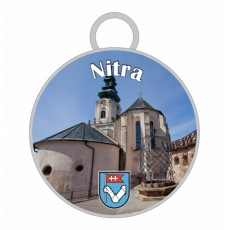 Kľúčenka kruh Nitra 02