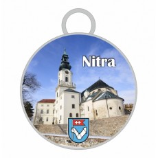 Kľúčenka kruh Nitra 03