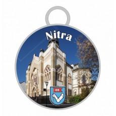 Kľúčenka kruh Nitra 05