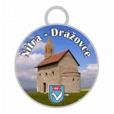 Kľúčenka kruh Nitra 06