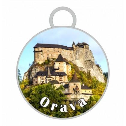 Kľúčenka kruh Orava 01