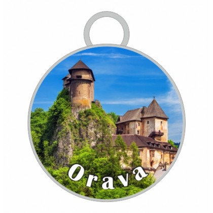 Kľúčenka kruh Orava 02