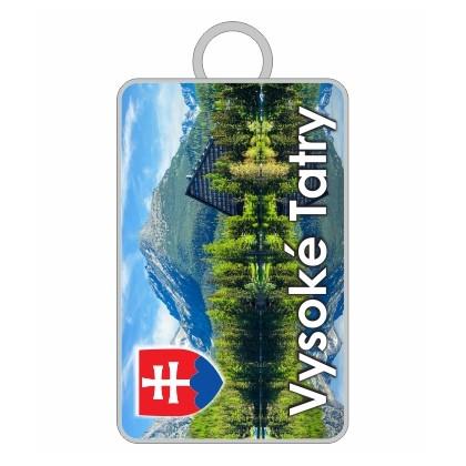 Kľúčenka Vysoké Tatry 02