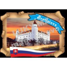 Magnetka listina Bratislava 1