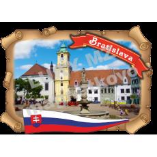 Magnetka listina Bratislava2