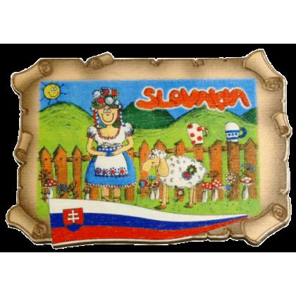 Magnetka listina Slovakia 2