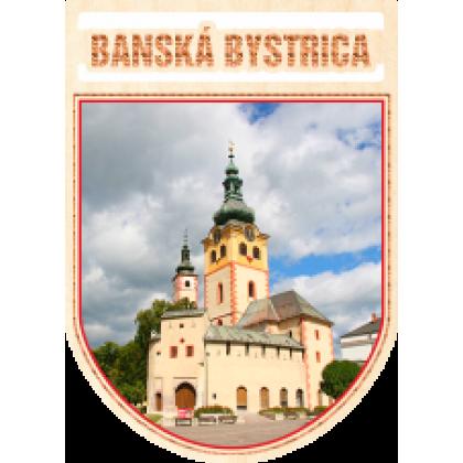 Magnetka erb Banská Bystrica