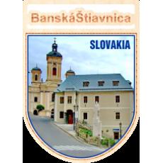 Magnetka erb Banská Štiavnica