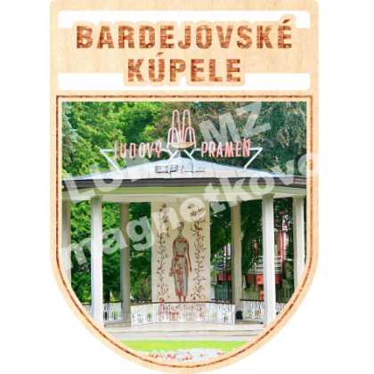 Magnetka erb Bardejovské Kúpele