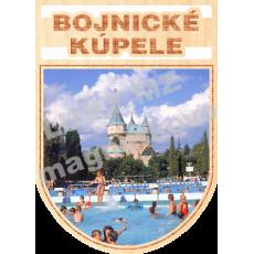 Magnetka erb Bojnické Kúpele