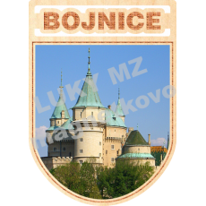 Magnetka erb Bojnice