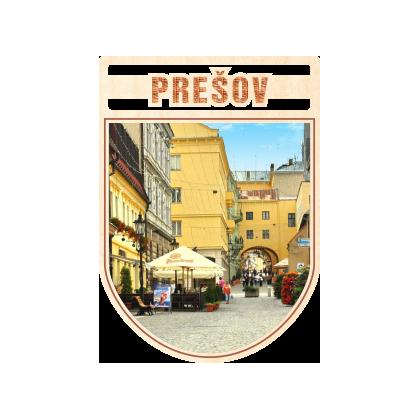 Magnetka erb Prešov 01