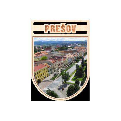 Magnetka erb Prešov 02