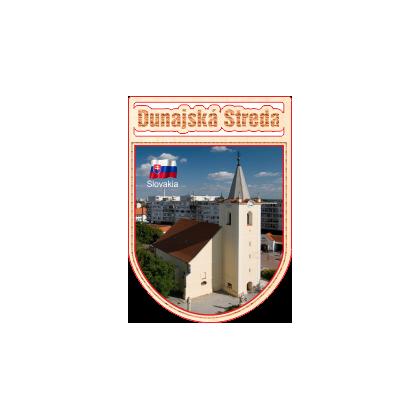 Magnetka erb Dunajská Streda