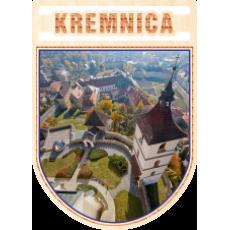 Magnetka erb Kremnica