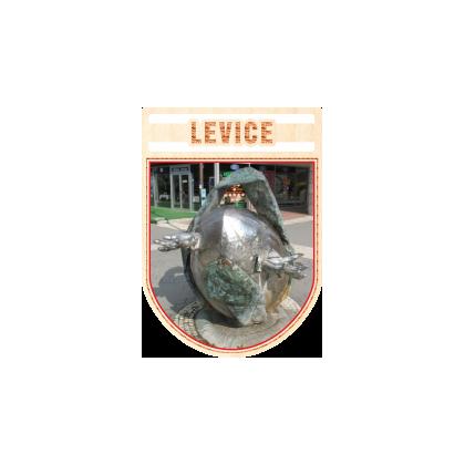 Magnetka erb Levice