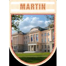 Magnetka erb Martin