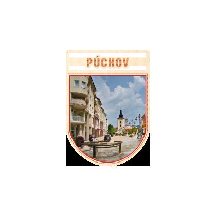 Magnetka erb Púchov