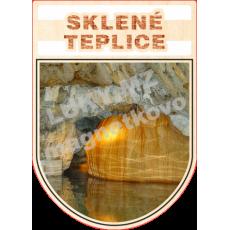 Magnetka erb Sklené Teplice 01