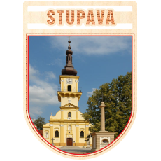 Magnetka erb Stupava