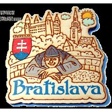 Magnetka gravírovaná Bratislava 1a
