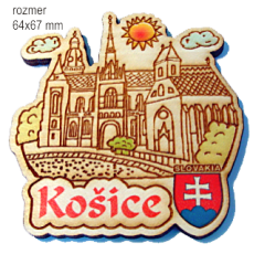 Magnetka gravírovaná Košice 1a